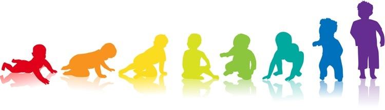 crescita graduale dei bambini